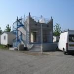 Tour bloc sanitaire camping