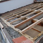Sorède toiture Foun del Sabate nouvelle charpente par Salvador Uceda