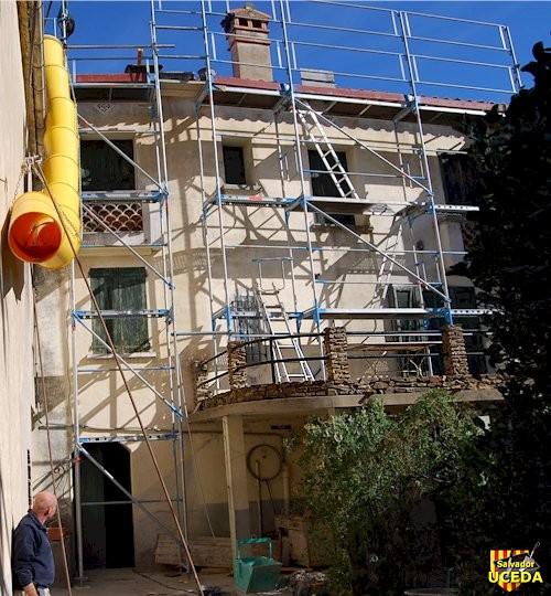 Ravalement de façade à Sorède 66 par l'entreprise Salvador Uceda