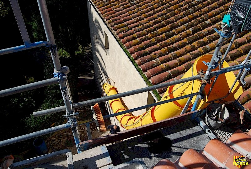 Rénovation toiture à Sorède (66) l'entreprise Salvador Uceda