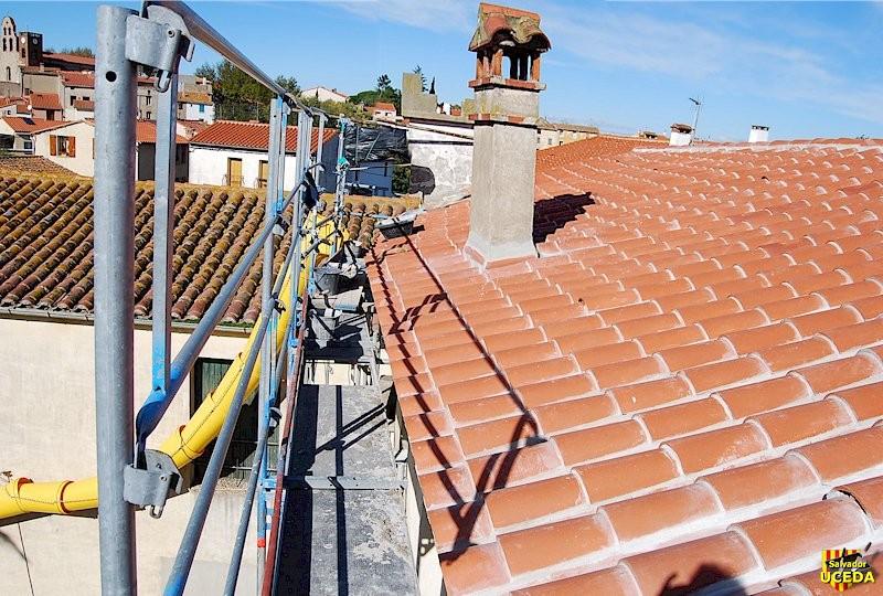 Rénovation toiture à Sorède (66) par l'Entreprise Salvador Uceda