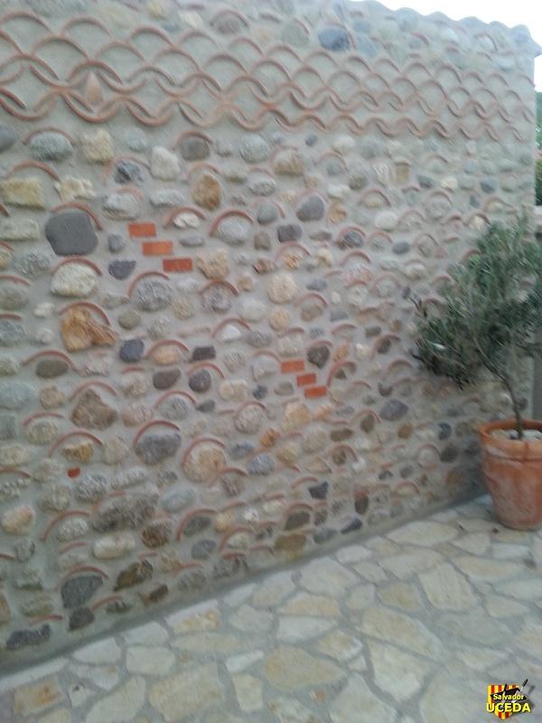 mur de mas catalan
