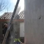 nettoyage de mur au jet pression moderée