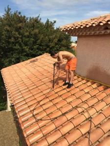 nettoyage traitement de toiture