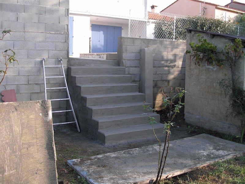 Argelés escalier rue Salfore